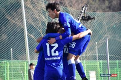 [춘계고등연맹전] 수원 매탄고, 충남 신평고에 3-0 승리...대회 3연패 달성