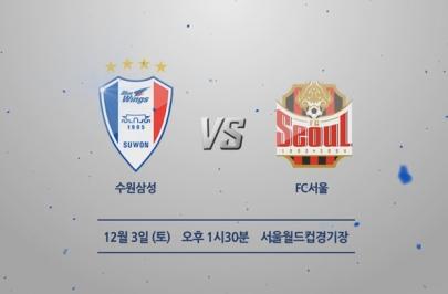 2016.12.03 FACUP 결승 2차전 서울 vs 수원 하이라이트