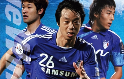 수원블루윙즈 축구단 8월 경기일정 포스터
