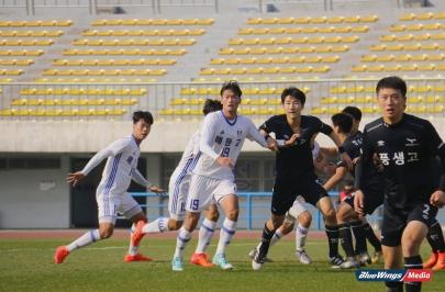 수원 U18, 성남에 발목 잡히며 무패 행진 마감