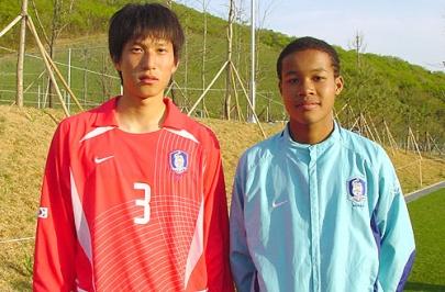 """김준· 이강진, """"U-16팀에서 활약중인 차세대 수원의 주역"""""""
