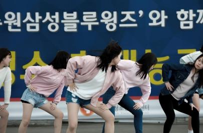 2016.04.02 홈경기 수원 청소년 재능기부 공연
