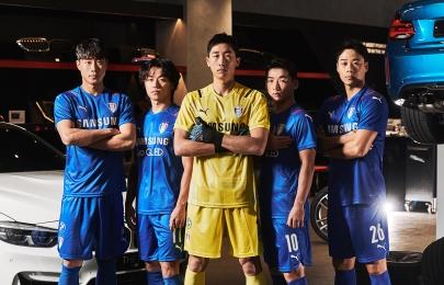 수원삼성 2021 시즌 유니폼 화보