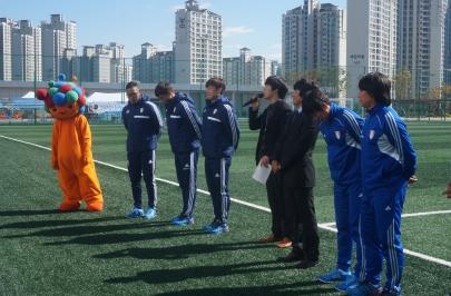 2013.10.16 삼성전자 화성사업장 동호인축구대회 결승전 팬사인회
