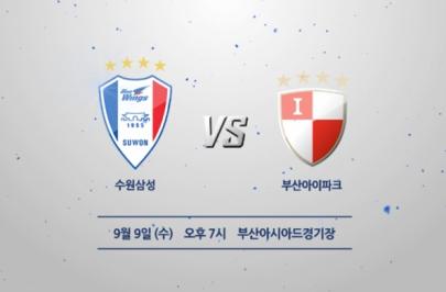2015.09.09 K리그 클래식 29R 수원 vs 부산 하이라이트