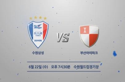 2016.06.22 FACUP 5R 16강전 수원 vs 부산 하이라이트