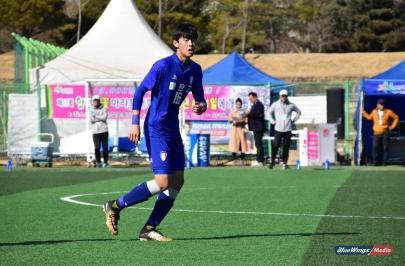 [꿈나무축구대회] 다재다능함으로 무장한 매탄고 김상준