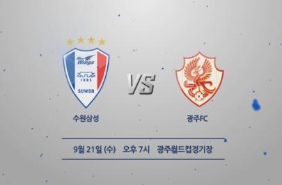 2016.09.21 K리그 클래식 31R 수원 vs 광주 하이라이트